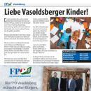 Einladung zu einer kreativen Arbeit für Vasoldsberger Kinder