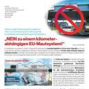 Nein zu einem kilometerabhängigen EU-Mautsystem
