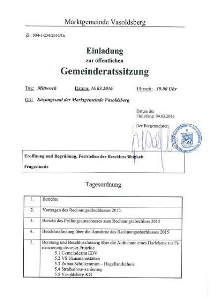 Einladung GR 16032016